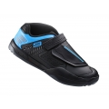 Zapatillas Shimano AM9 Negro/Azul SPD